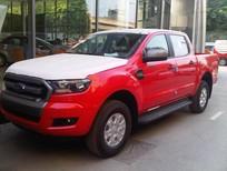 Bán Ford Ranger XLS AT 2017 màu đỏ, giá tốt, hỗ trợ thủ tục đăng ký, đăng kiểm cho khách hàng