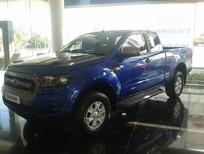 Bán Ford Ranger XLS AT2017 màu xanh dương, giá tốt, hỗ trợ thủ tục đăng ký, đăng kiểm