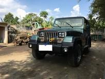 Cần bán xe Jeep Wrangler đời 1995, màu xanh lục