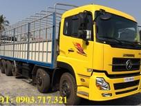 Công ty bán xe tải DongFeng Hoàng Huy 5 chân tải trọng 21t5, xe DongFeng 21T5 10x4