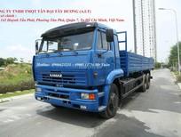 Tải thùng 3 chân Kamaz, bán xe Kamaz 65117 thùng 14 tấn mới tại Bình Dương