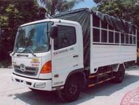 Xe tải Hino 5T6 thùng mui bạt
