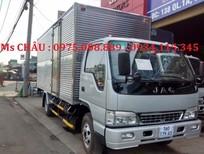 Bán xe tải jac 3T45(xe tải JAC 3,45 tấn) đóng thùng kín, thùng bạt trả góp