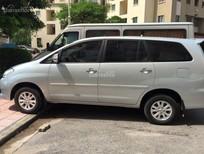 Bán Toyota Innova G đời 2010 màu bạc, số sàn, giá 413tr. Liên hệ 0904628617