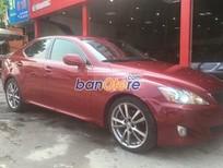 Xe Lexus IS 250 đời 2008, màu đỏ, nhập khẩu nguyên chiếc, số tự động, 980 triệu