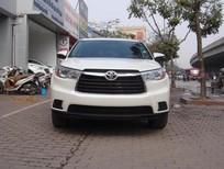 Bán ô tô Toyota Highlander LE đời 2015, màu trắng, nhập khẩu chính hãng