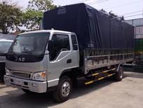Bán JAC 6T4 thùng bạt, xe tải JAC 6T4, màu bạc