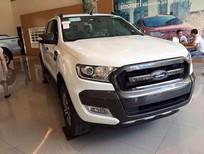 Bán Ford Ranger 3.2 Wildtrak mới tại Hà Nội, màu trắng, nhập khẩu chính hãng giá cạnh tranh