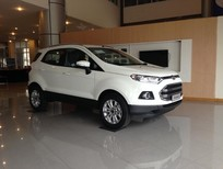 Cần bán Ford EcoSport 1.5 Titanium AT mới tại Hòa Bình, màu trắng, giá bán cạnh tranh