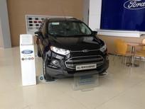 Cần bán Ford EcoSport 1.5 Titanium AT mới tại Bắc Giang, màu đen, giá bán thương lượng