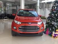 Bán xe Ford EcoSport 1.5 Titanium AT 2017, màu đỏ cam, giá SỐC hỗ trợ đăng ký