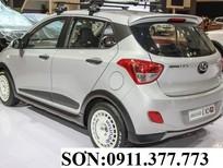 Cần bán Hyundai i10 mới 2018, màu bạc,trả góp 90%xe,LH Ngọc Sơn:0911.377.773