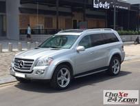 Cần bán xe Mercedes GL550 sản xuất 2009, màu bạc, số tự động