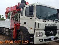 Xe tải cẩu Hyundai HD320, lắp cẩu Soosan 10 tấn