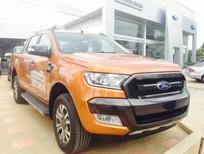 Bán xe Ford Ranger Wildtrak 3.2 AT 4x4 2017, màu cam, hỗ trợ trả góp lên tới 80% tại Hải Dương