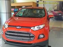 Bán ô tô Ford EcoSport Titanium 2017, màu đỏ, giao xe toàn quốc, hỗ trợ trả góp
