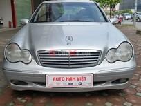 Cần bán gấp Mercedes C200 năm 2003, màu bạc