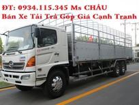 Xe mới Hino 16 tấn(3 chân 3 giò) thùng dài 9m2/ xe tải Hino 16T trả góp
