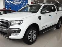 Mua xe Ford Ranger Wildtrak 3.2 2017 màu trắng, giá tốt nhất Hà Nội