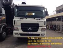 Xe tải cẩu Hyundai HD320 lắp Soosan 10 tấn