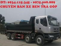 Ben Chenglong 4 chân( 4 giò) Xe ben chengLong hải âu 17 tấn 5( 2 cầu) 4 chân 310HP
