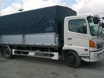 Bán xe tải HINO FC  6.4tấn thùng mui bạt thùng kín khuyến mãi hấp dẫn