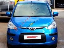 Cần bán xe Hyundai i10 1.2AT đời 2010, màu xanh lam số tự động