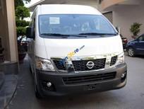 Bán xe Nissan Urvan 350 mới hoàn toàn, màu trắng bạc, nhập khẩu nguyên chiếc từ Thái Lan, có xe giao ngay