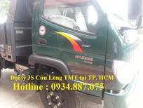 Bán xe ben TMT Hyundai 3.5 tấn / 3t5 / 3,5 tấn động cơ hyundai TMT HD7335D
