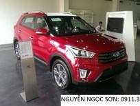 Bán Hyundai Creta mới 2017, màu đỏ, nhập khẩu.786 triệu