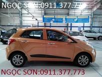 Bán xe Hyundai i10 Đà Nẵng, màu cam, trả góp 80% xe, giá chỉ 315 triệu