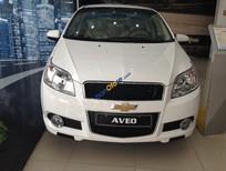 Bán ô tô Chevrolet Aveo LT 2017, màu trắng, hỗ trợ trả góp, đăng ký đăng kiểm
