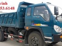Giá xe ben Thaco FD500. E4 tải trọng 5 tấn Trường Hải ở Hà Nội. LH 098.253.6148