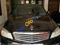 Bán Mercedes C200 đời 2009, màu đen xe gia đình