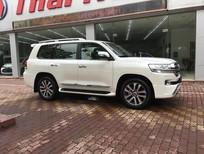 Bán xe Toyota Land Cruiser 4.6 VXR 2016, màu trắng, nhập khẩu nguyên chiếc