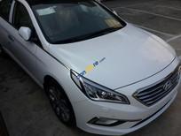 Cần bán Hyundai Sonata 2.0AT năm 2016, màu trắng, nhập Hàn Quốc, khuyến mãi 30 triệu