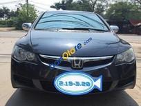 Tôi cần bán gấp Honda Civic MT đời 2007, màu đen đã đi 110000 km