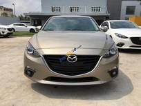 Cần bán Mazda 3 1.5AT đời 2016, màu vàng cát, hỗ trợ trả góp 80% - LH 0973.920.338