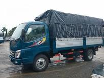 Bán Thaco OLLIN 500B, Tải trọng 5 tấn, thùng mui bạt, màu xanh dương đời 2016, hỗ trợ trả góp