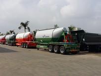 Bán xe Sơ Mi rơ Mooc xi téc Doosung chở Xi măng rời 33 tấn