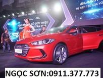 Bán xe Hyundai Elantra mới 2017, màu đỏ, nhập khẩu chính hãng, 595 triệu