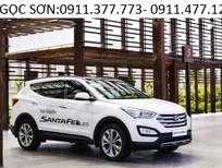 Cần bán xe Hyundai Santa Fe mới 2017, màu trắng, xe nhập