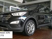 Bán Hyundai Santa Fe mới 2017, màu đen, nhập khẩu nguyên chiếc