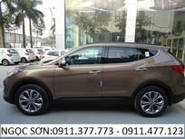 Cần bán xe Hyundai Santa Fe mới 2017, màu nâu, nhập khẩu nguyên chiếc