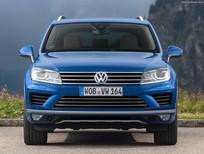 Bán xe Volkswagen Touareg GP 2016, màu xanh lam, xe nhập