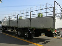 Hino 3 chân thùng Nhôm đúc Hino FL8JTSL siêu dài 24 tấn mui bạt nhôm