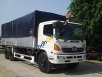 Xe Hino 3 chân 16 tấn thùng 9m3, Hino FL8JTSL xe tải Thùng mui bạt – Kiểu nhôm