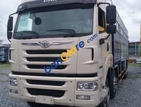 Bán xe FAW 4 chân xe tải thùng đời 2015, màu trắng, nhập khẩu nguyên chiếc