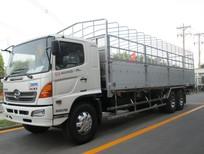 Bán xe tải Hino 16 tấn 3chân thùng mui bạt thùng kín trả góp lãi suất thấp