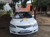 Bán xe Honda Civic 1.8MT đời 2007, màu trắng